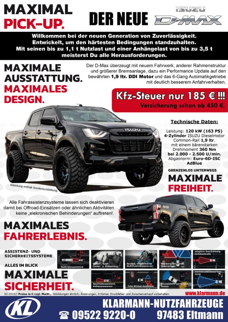 ISUZU D-MAX Pickup