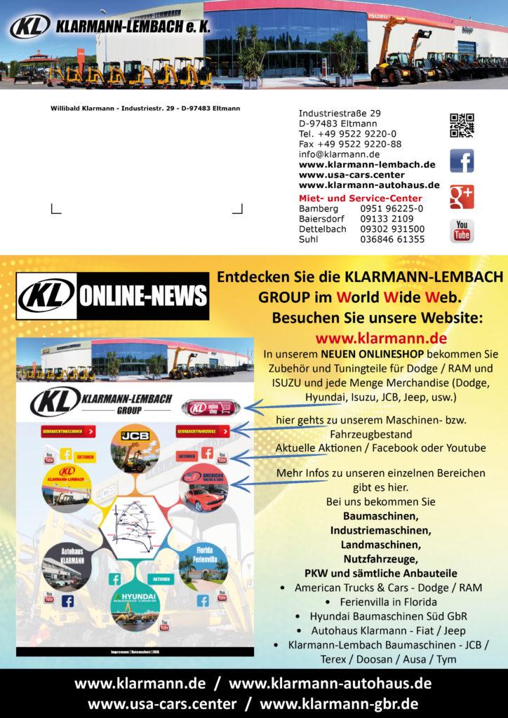 Entdecken Sie die Klarmann-Lembach GROUP im Word Wide Web